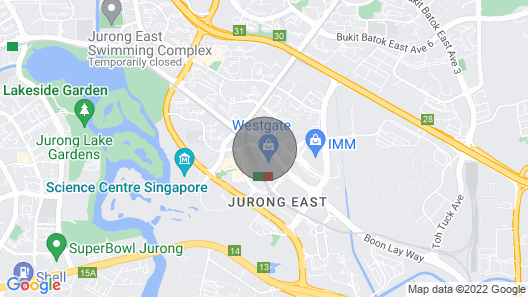 Fully Furnished Modern 1BR Jurong East / Queenstown Map