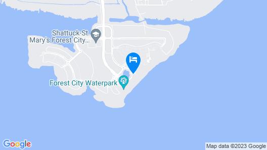 Forest City Marina Hotel Map
