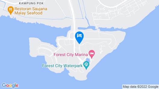 Forest City Staview Bay by Wastone Map