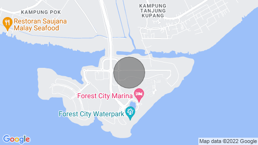 Forest City Johor Brand New Homestay 2019 Map