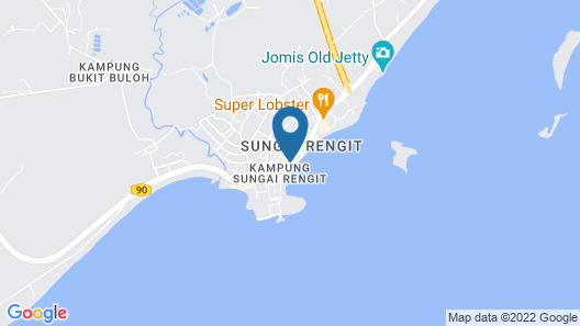 OYO 90234 Sungai Rengit City Resort 2 Map
