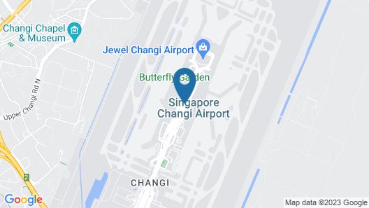 Ambassador Transit Lounge Singapore T2 Map