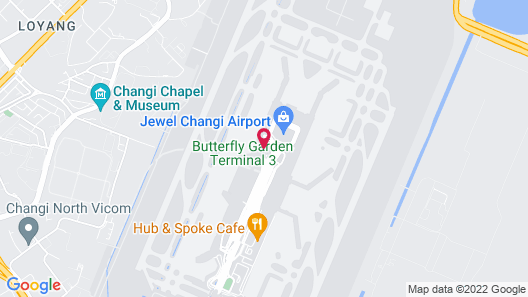 Crowne Plaza Changi Airport (SG Clean), an IHG Hotel Map