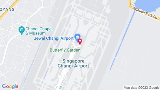 Ambassador Transit Hotel Terminal 2 Map