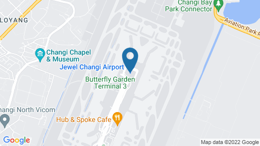 YOTELAIR Singapore Changi Airport Landside (SG Clean) Map