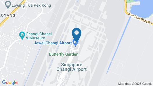 Aerotel Transit Hotel, Terminal 1 Map