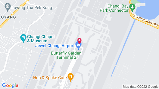 Aerotel Singapore - Terminal 1 Map