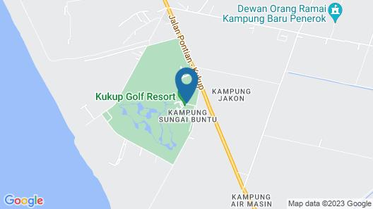 Kukup Golf Resort Map