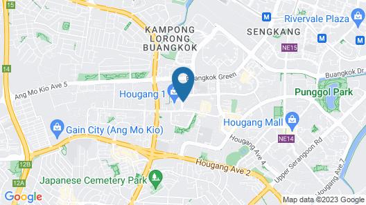 Village Residence Hougang Map