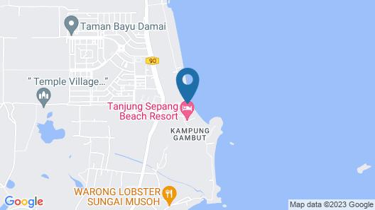 Lotus Seaview Beach Resort & Spa Map