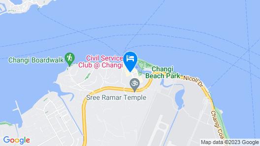 Village Hotel Changi by Far East Hospitality Map