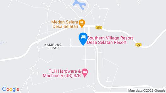 Desa Selatan Resort Map