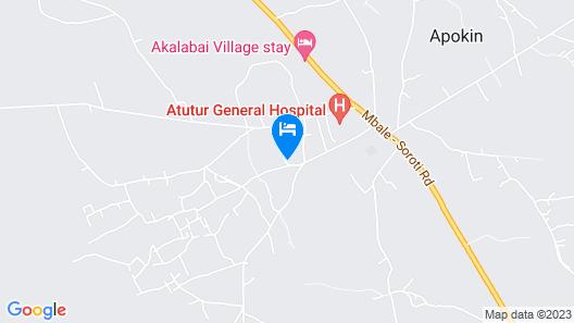 Akalabai Villagestay Map