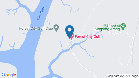 Forest City Golf Hotel Map