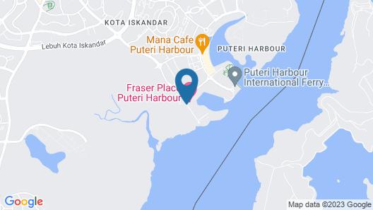 Pinetree Marina Resort Map