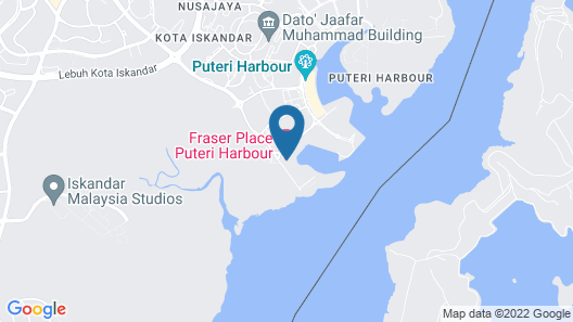 Fraser Place Puteri Harbour  Map