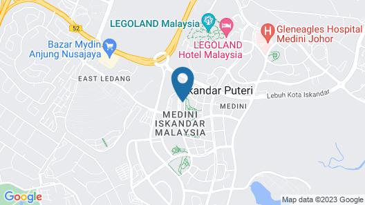 The M Macrolink Hijauan Medini Map