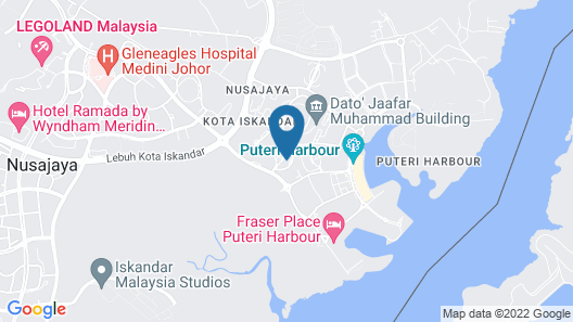 Almas Puteri Harbour By Squarenest Map