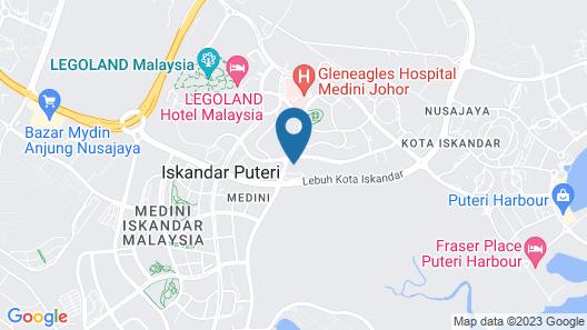 JBNB 1 Medini Homestay Map