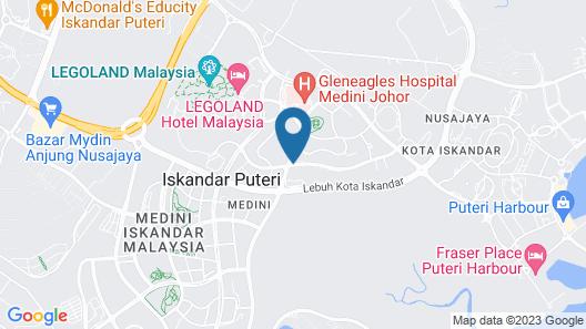 Meridin Medini Sovo Map