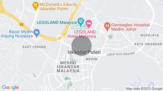 Legoland Malaysia Meridin@Medini [Studio] Map