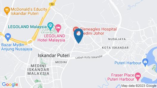 Alia Premier Medini By SubHome Map