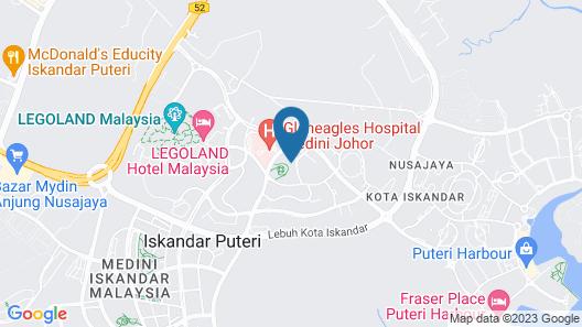 The Elysia Park Residence Map