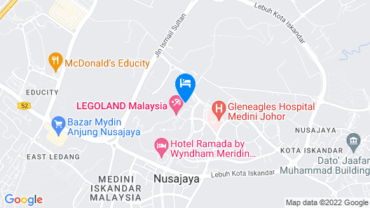 LEGOLAND Malaysia Resort Map