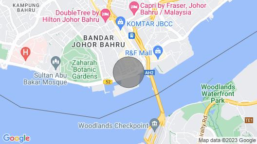 Heritage Cultural Lane @ Hiok Nee Johor Bahru Downtown Map