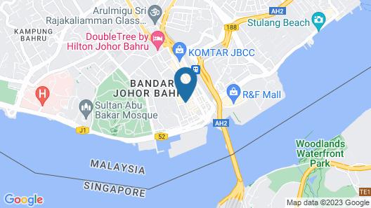 Meldrum Hotel Map