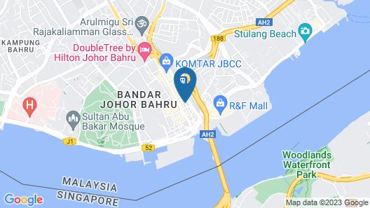 JB Central Hotel Map