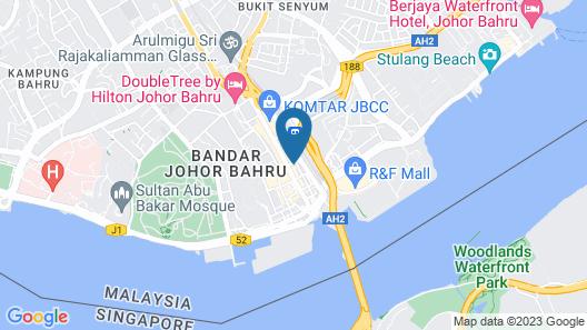 Citrus Hotel Johor Bahru by Compass Hospitality Map