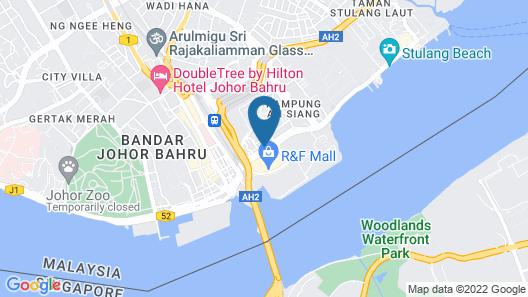 GBW Hotel Map