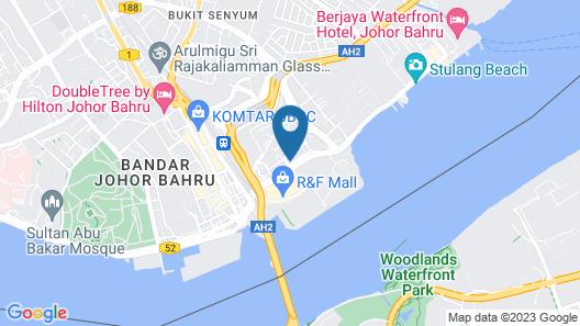 Amansari Express Hotel Map