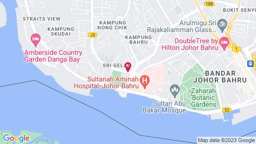 Thistle Johor Bahru Map