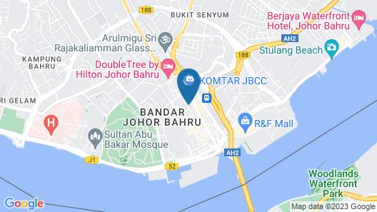 CIQ HOTEL at Jalan Trus Map