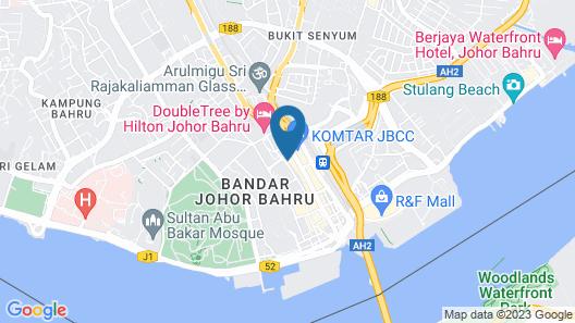Suasana All Suites Hotel Map