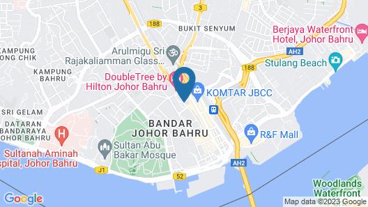 Amari Johor Bahru Map