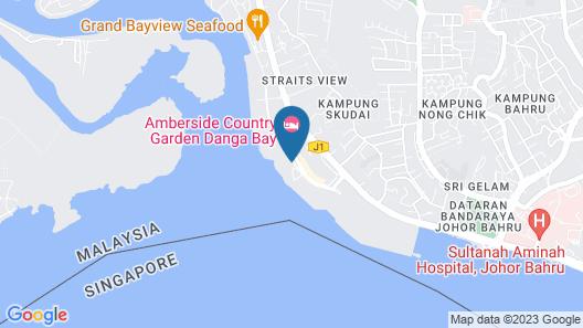 Homerent by Countrygarden Danga Bay Map