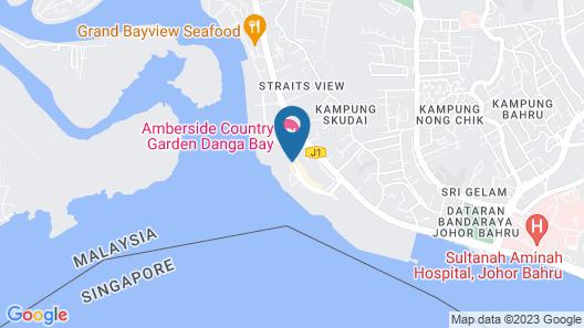 myJOHORstay at Country Garden Danga Bay Map