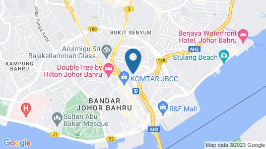 Capri by Fraser Johor Bahru Map