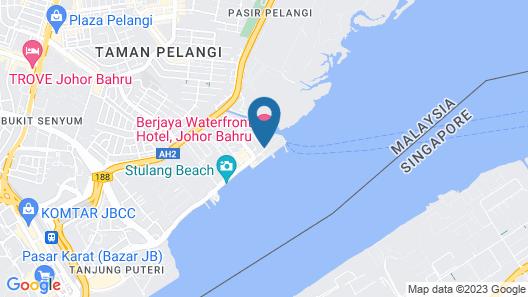 Berjaya Waterfront Hotel Map