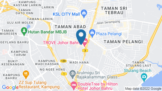 Twin Galaxy Residences Map