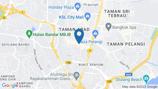 TROVE Johor  Bahru  Map