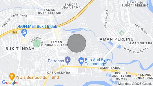 3bedroom 3bathroom Cluster House@jusco Bukit Indah Map