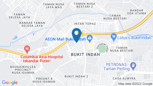C U Homestay Bukit Indah Map