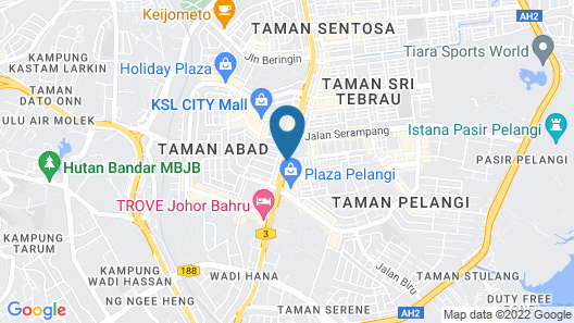 Bliss Boutique Hotel Map