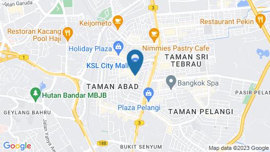KSL Hotel & Resort Map