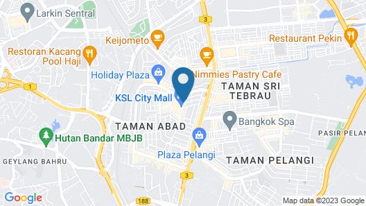 KSL Hotel & Resort - Apartment Map