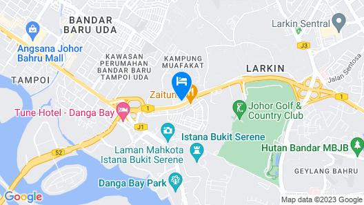 De' KPMJ Inn Map